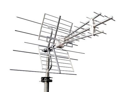 Antenne UHF / VHF couplée Emme Esse LTE Free / 55M3L