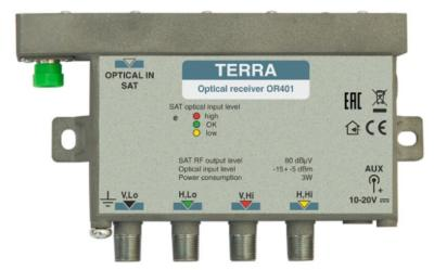 OR401 / LNB QUATTRO VIRTUEL / TERRA ELECTRONICS