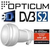 LNB OPTICUM Single ROBUST 0,1 dB