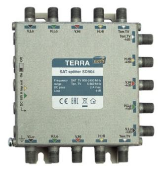 Répartiteur 2 voies SD504 TERRA ELECTRONICS